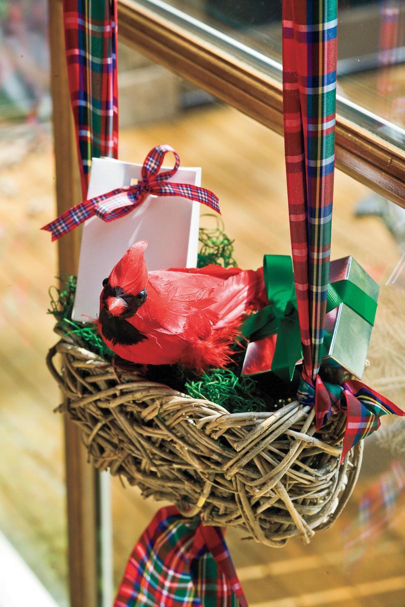 Cascanueces de Navidad cubrir para un rollo de lana de tejer patrón de Chocolate