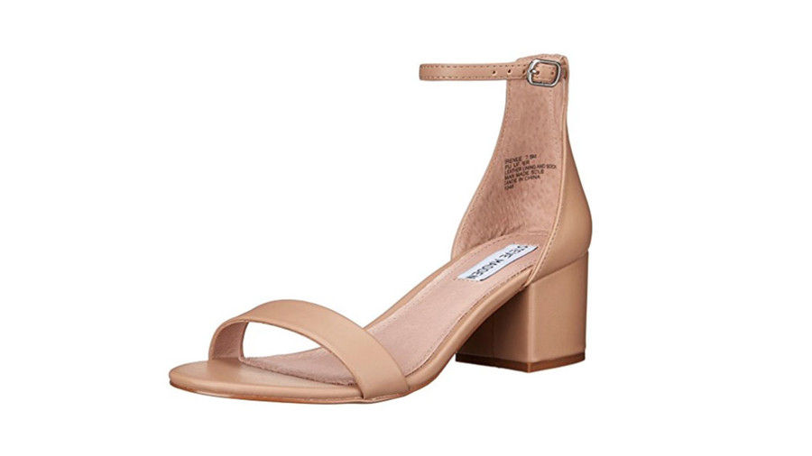 стив Madden Women's Irenee Heeled Dress Sandal in Blush