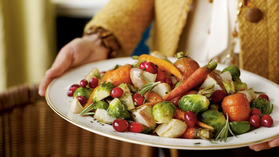 كرز Roasted Winter Vegetables