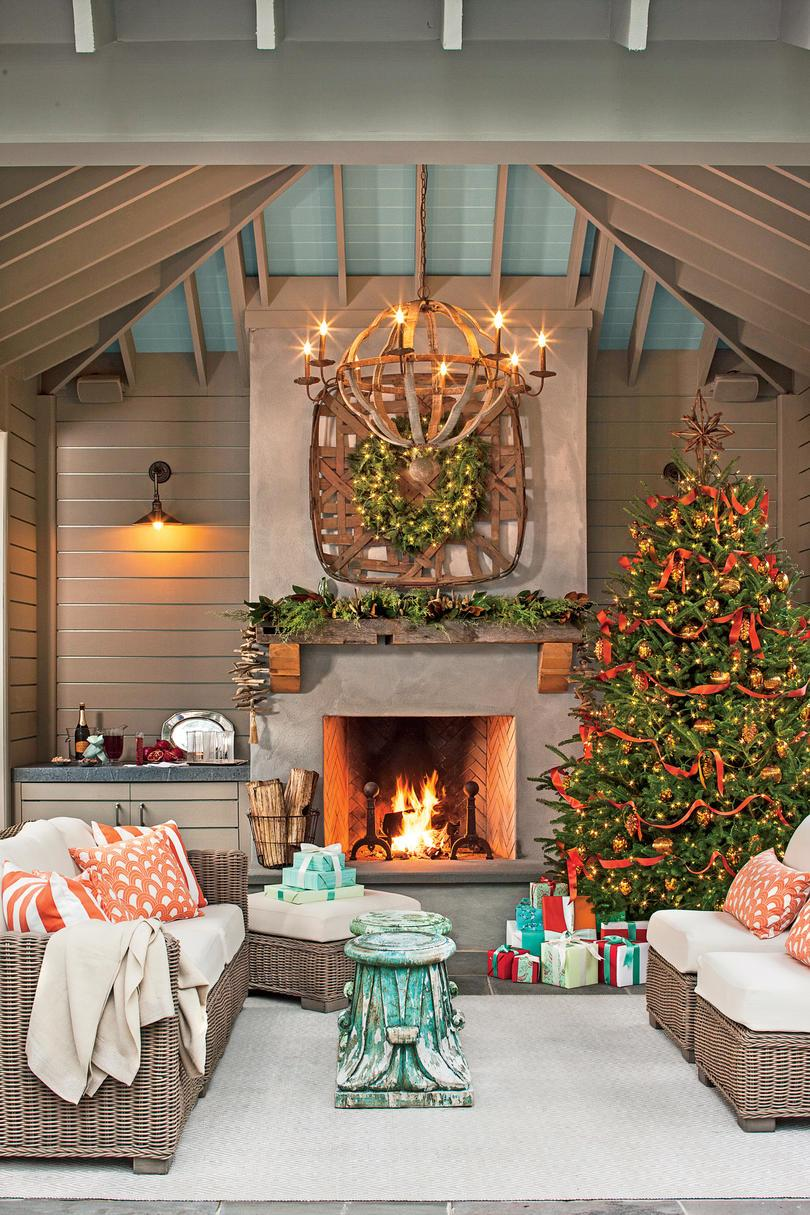 Soubor a Holiday Scene In Your Outdoor Room