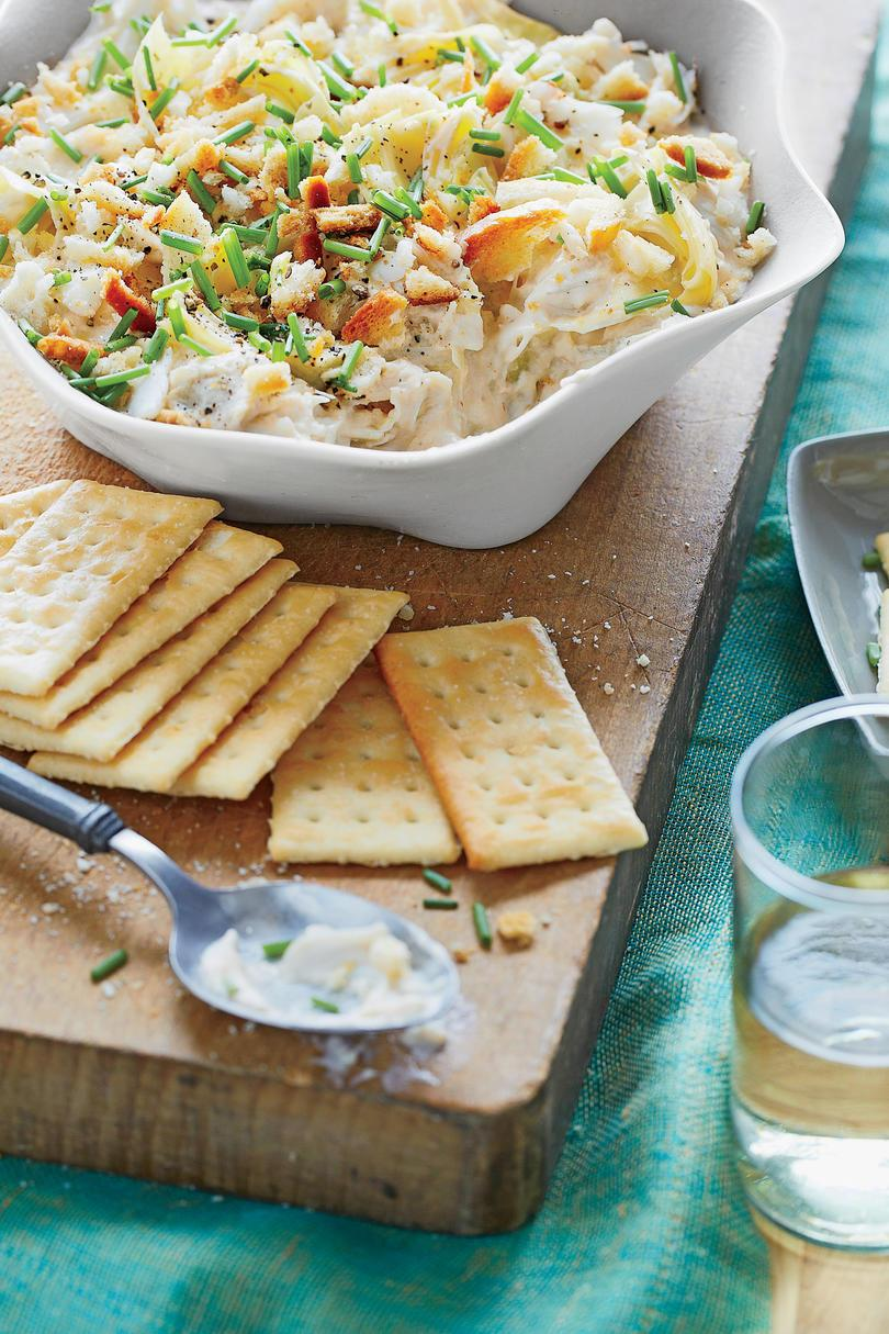 Alcachofa and Crabmeat Dip