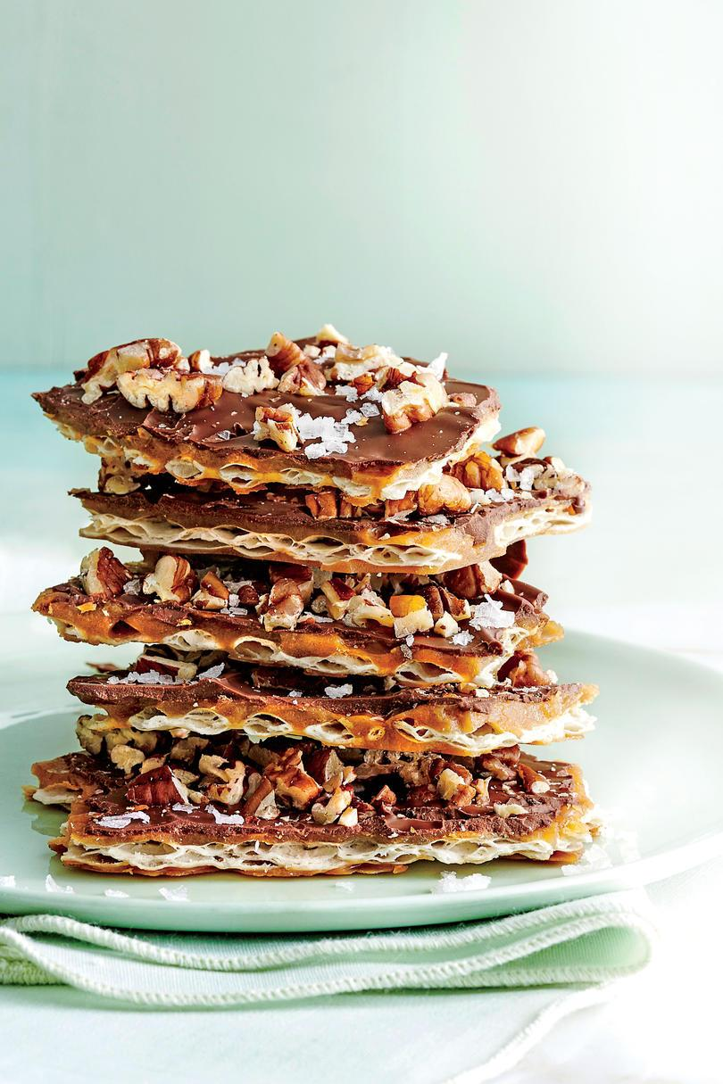 Solené Chocolate Matzo Toffee