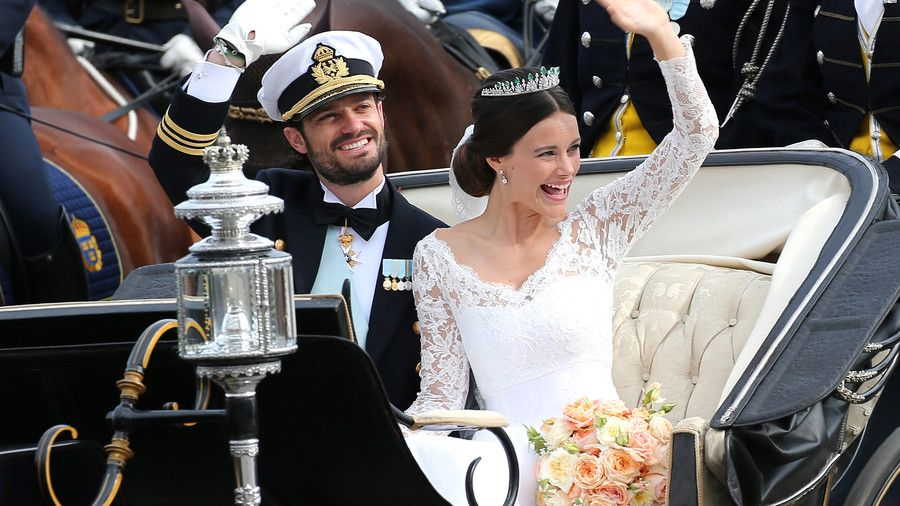 Prins Carl Philip of Sweden and Sofia Hellqvist