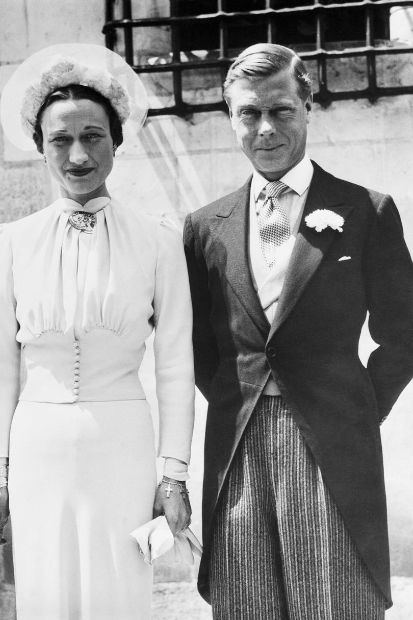 Edward VIII, Duke of Windsor, and Wallis Simpson