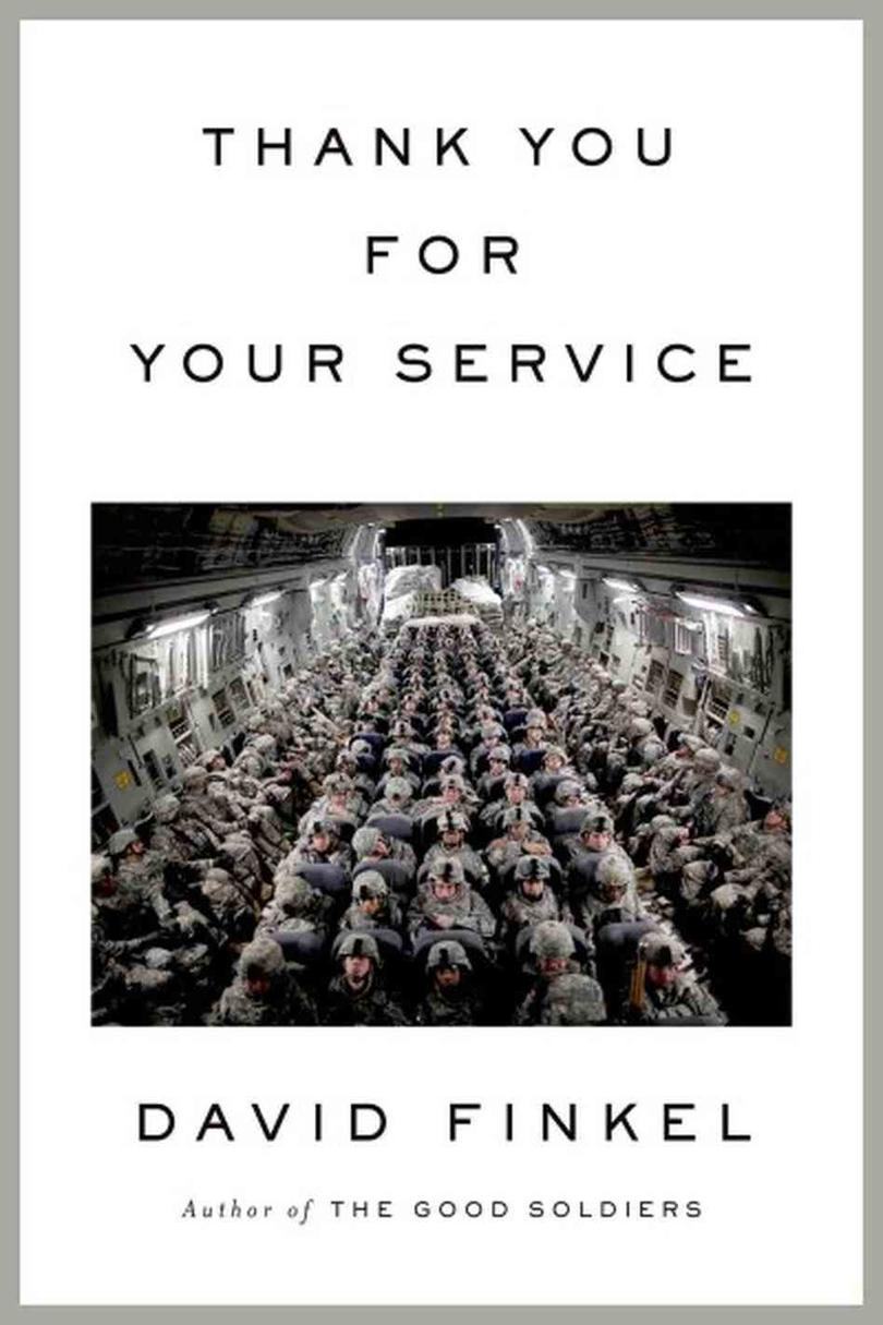 Takke You for Your Service by David Finkel