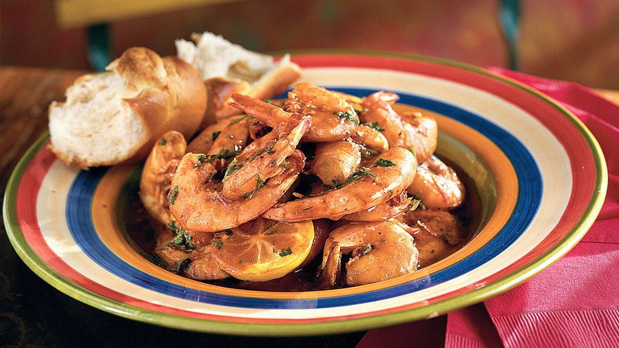 ケイジャン Recipes: New Orleans Barbecue Shrimp