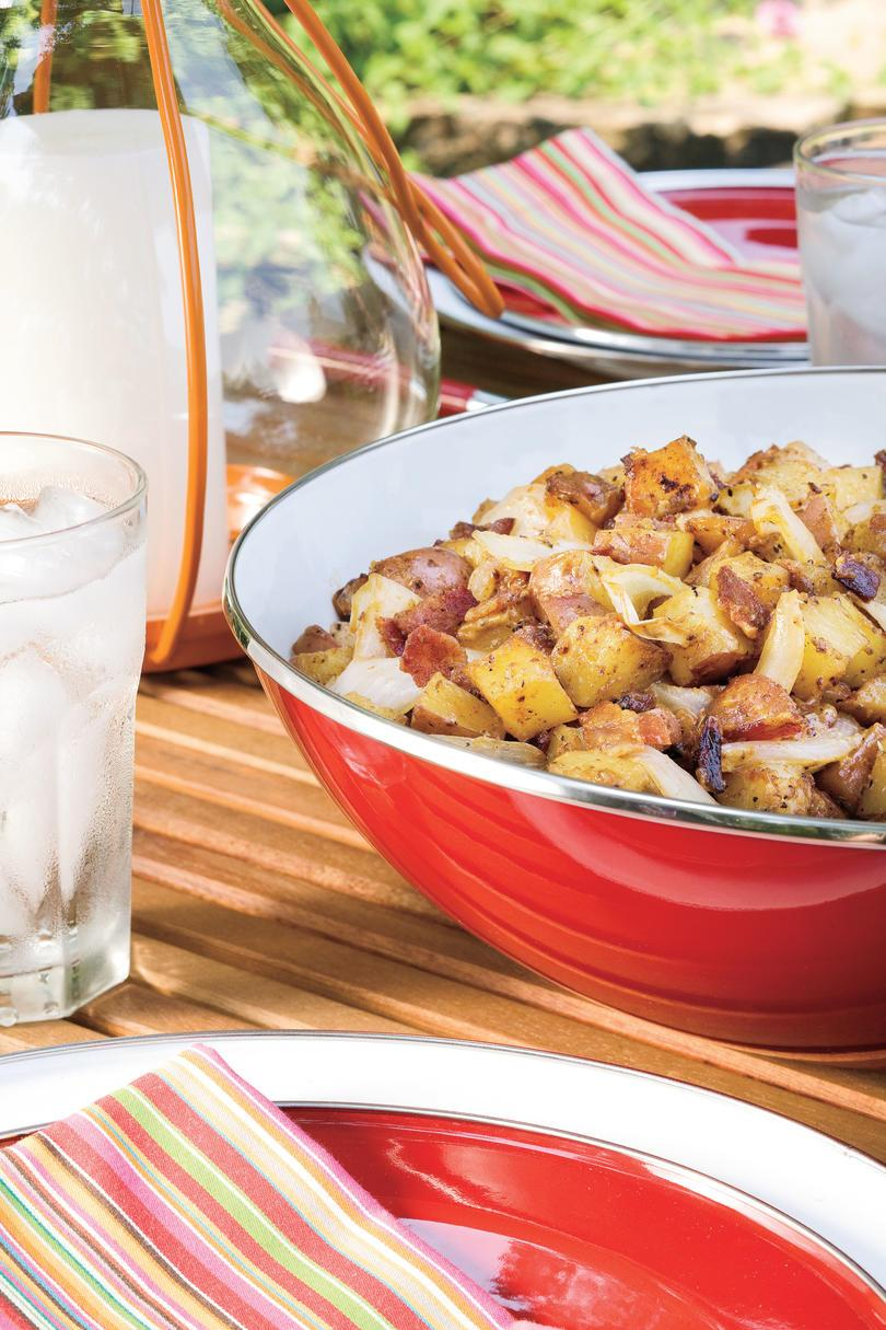 父's Day Recipe Ideas: Grilled Potato Salad