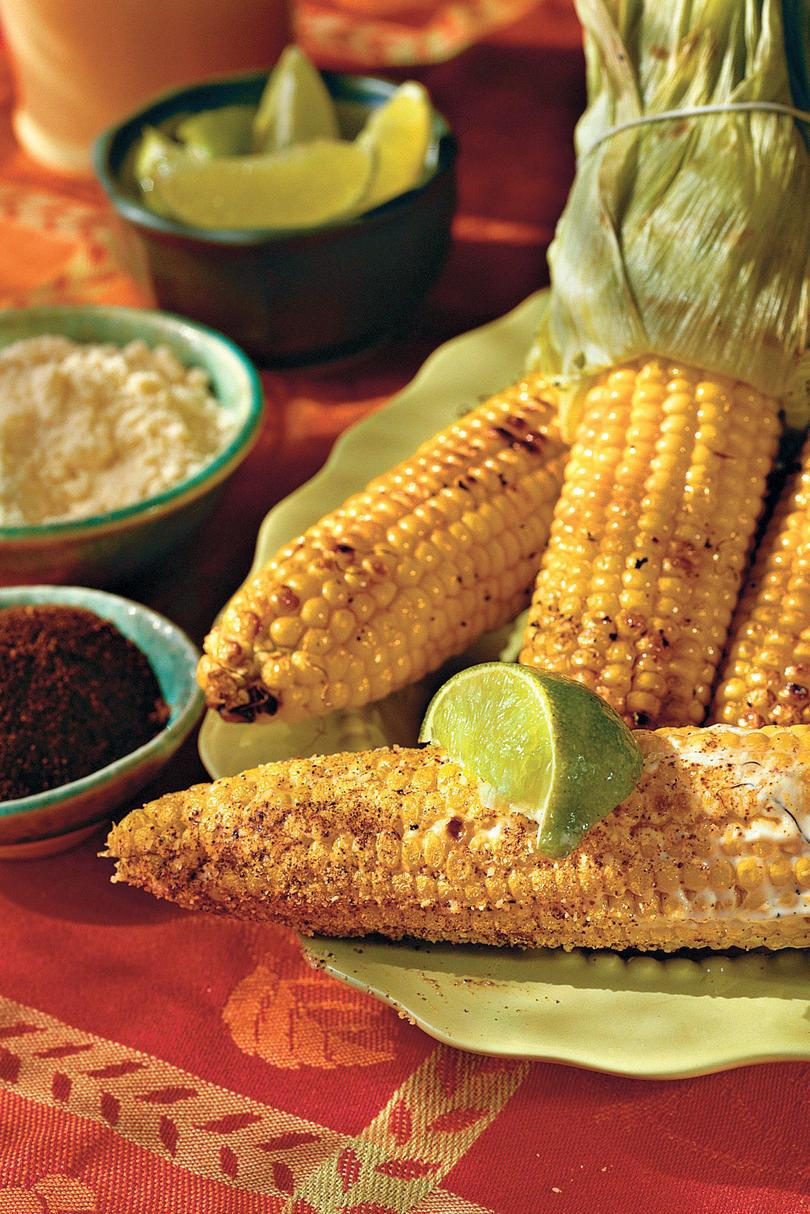 父's Day Recipe Ideas: Grilled Corn in the Style of Oaxaca