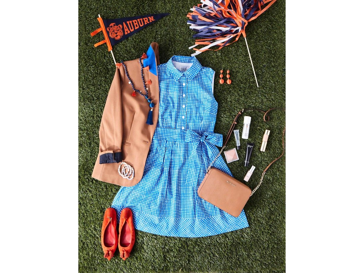 Blithe Dress Auburn