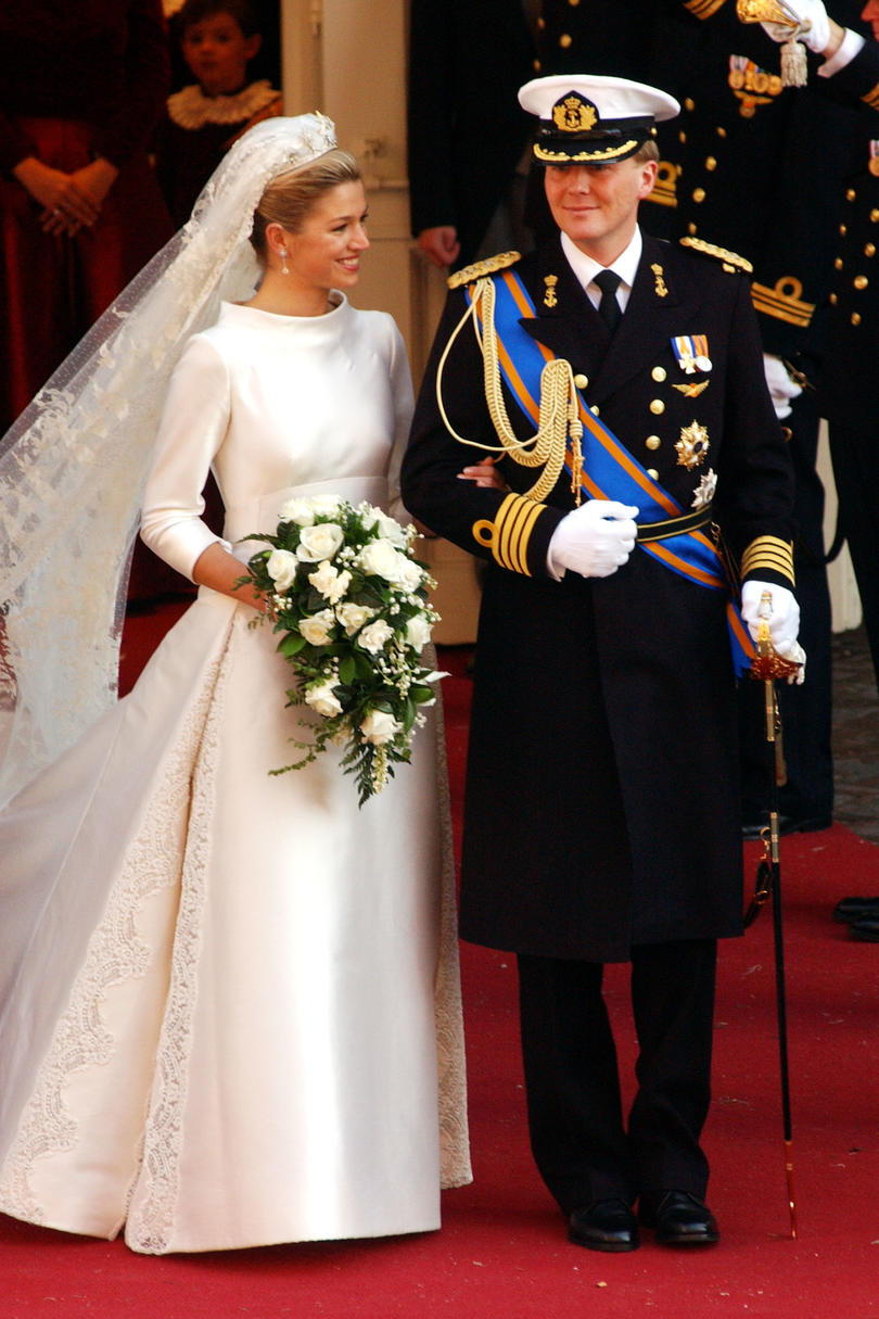 Prins Willem Alexander of the Netherlands and Maxima Zorreguieta