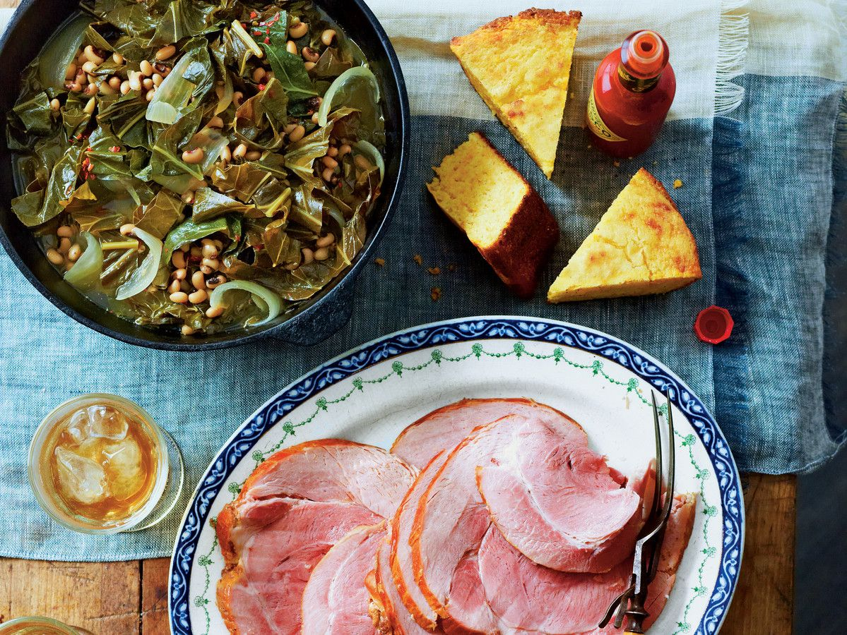 добре Luck Greens and Peas with Ham