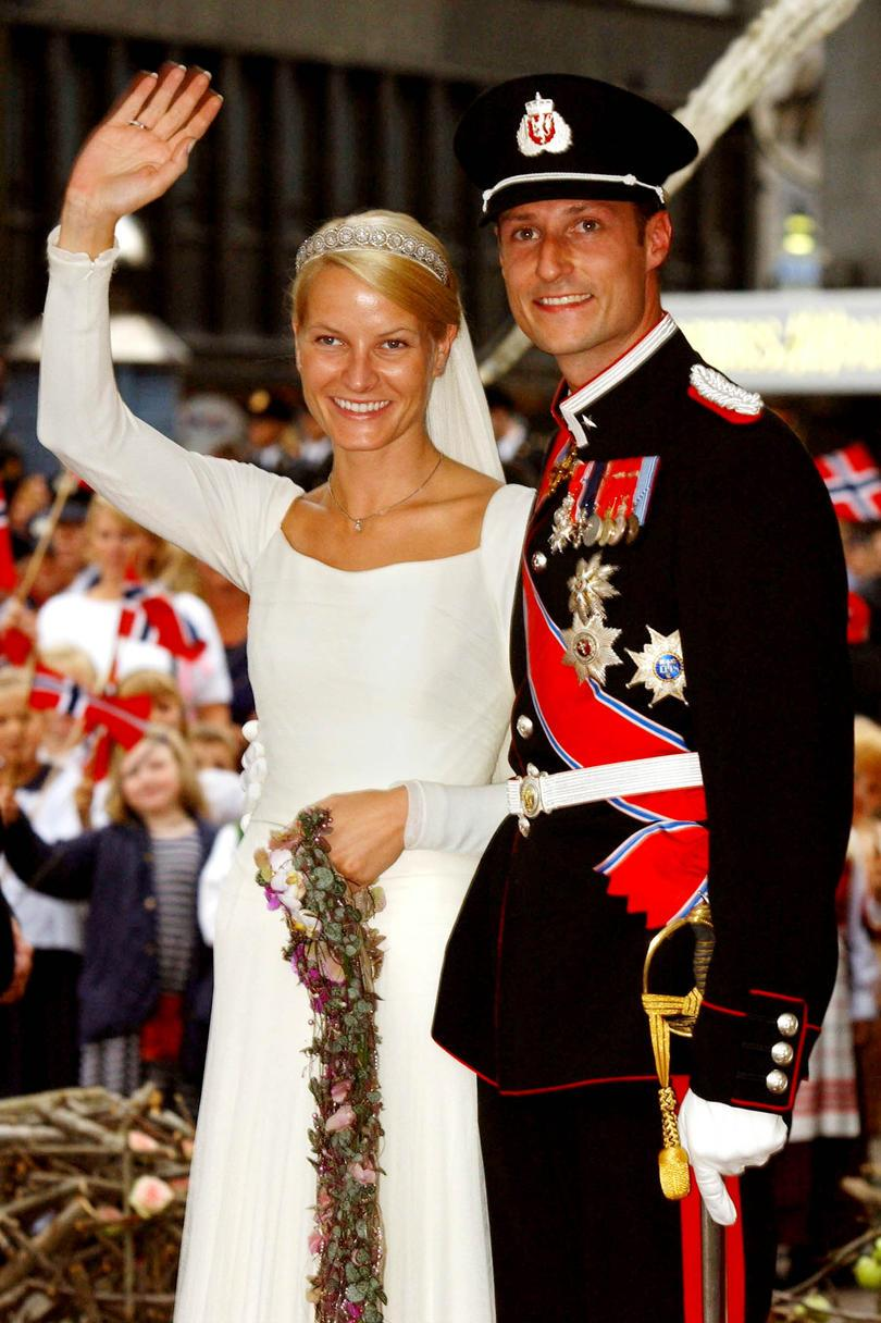 Prins Haakon of Norway and Mette-Marit Tjessem Hoiby