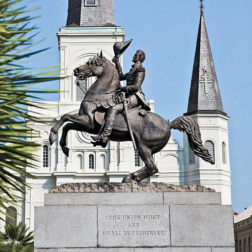 Ny Orleans Vacations: Jackson Square