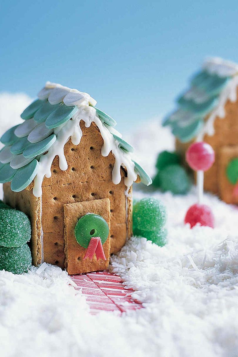 кстати, целиком рождественские домики из печенья фото оформлена приятных рыжих