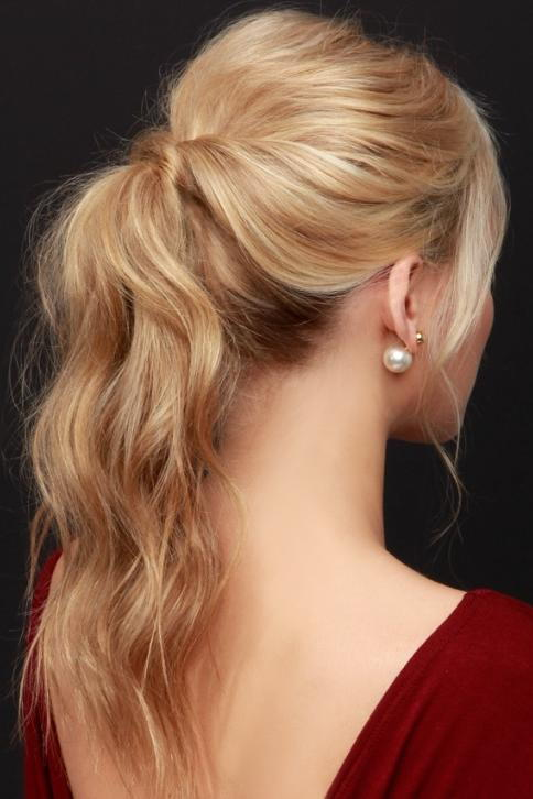 Party-Perfect Ponytail