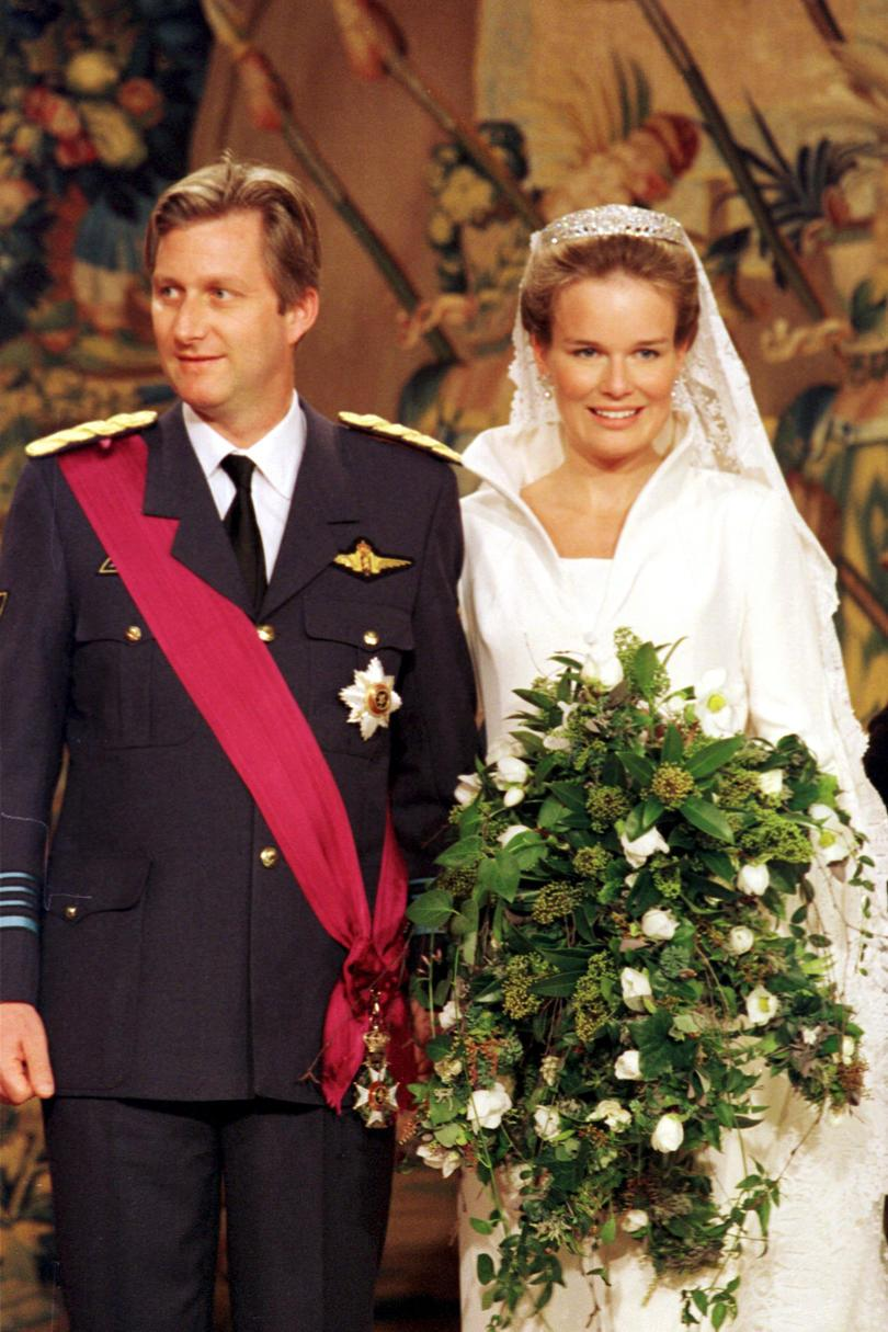 Prins Philippe of Belgium and Mathilde D'Udekem