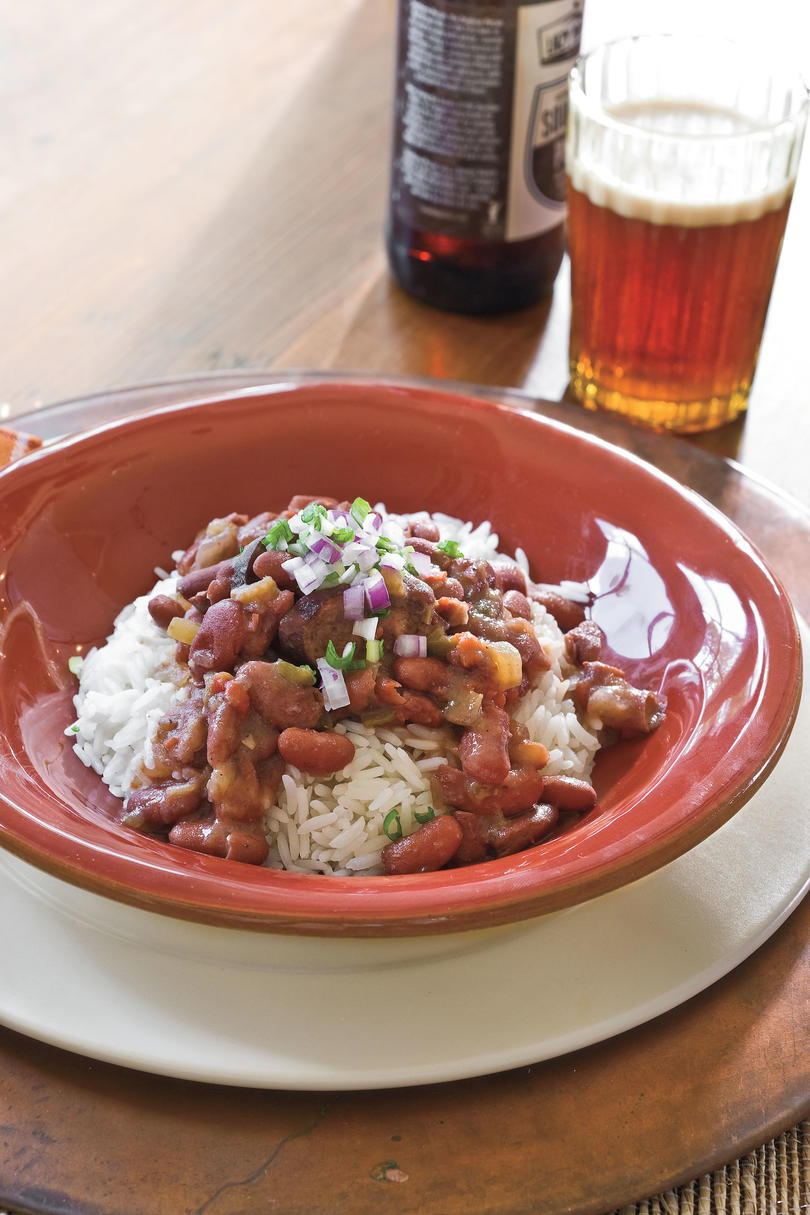 Lento Cooker Recipes: Slow-Cooker Red Beans and Rice