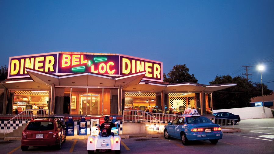 южен Diner Restaurants: Bel-Loc Diner, Baltimore, MD