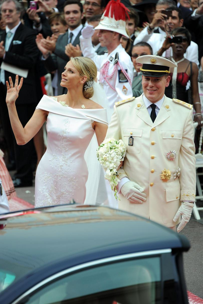 Prins Albert II of Monaco and Charlene Wittstock