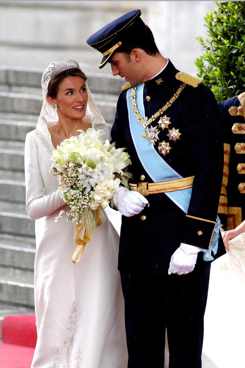 Prins Felipe of Spain and Letiza Ortiz