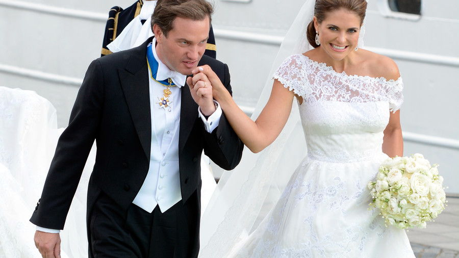 Prinsesse Madeleine of Sweden and Christopher O'Neill