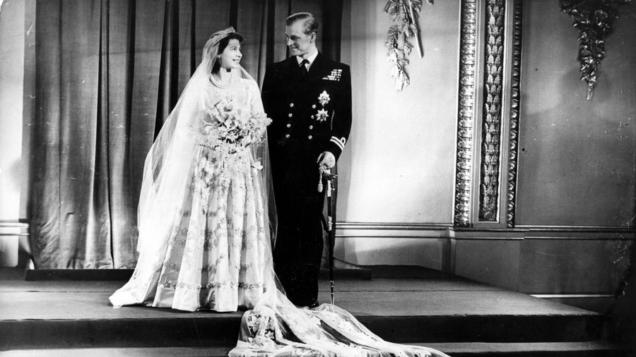 Prinsesse Elizabeth and Philip Mountbatten, Duke of Edinburgh