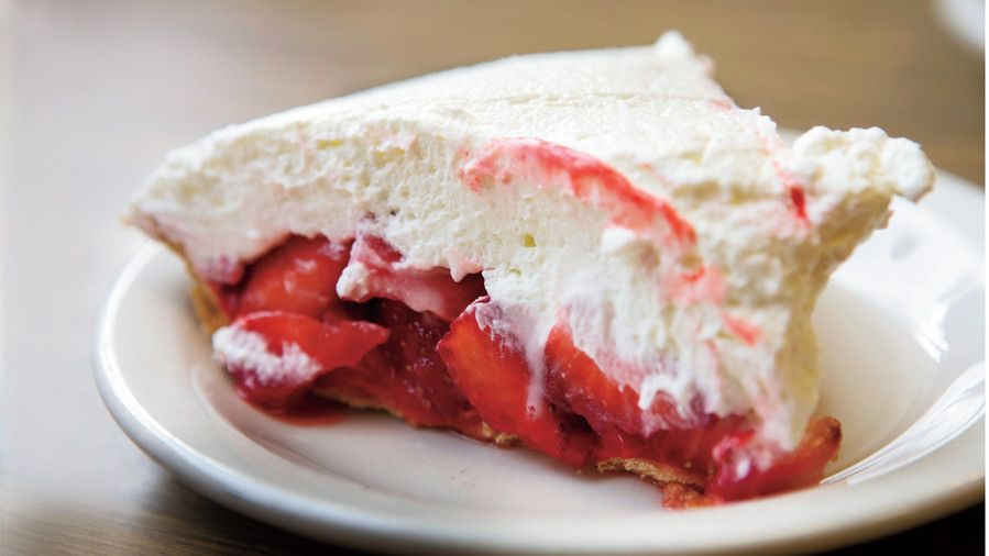 южен Diner Restaurants: Strawn's Strawberry Glaze