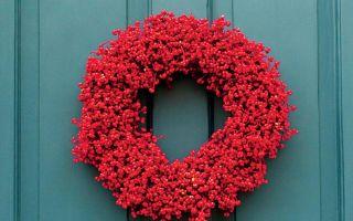 10 начина за декориране с червено