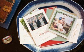 Este es el momento apropiado para enviar tarjetas de Navidad