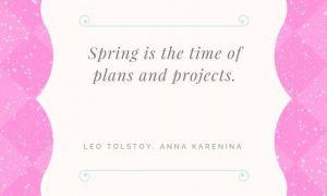 Цитати, които ще ви дадат пролетна треска