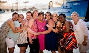Запознайте се с жената, която помага на другите да си починат от рака на гърдата