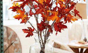 19 maneras de decorar con hojas este otoño