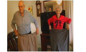 ノースカロライナ州の70代のカップルが一緒に約400ポンドを失う