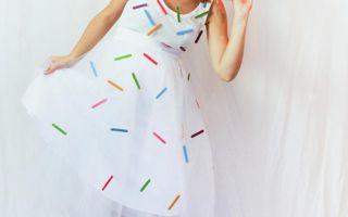 Kreative måder at kjole som mad til Halloween