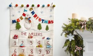 Heirloom Advent Calendars para una Navidad clásica