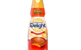 أطلقت International Delight للتو مقشدة من زبدة الفول السوداني من ريز ، ولا أنت لا تحلم