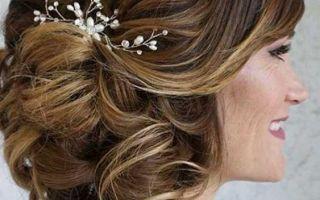Elegantní matka účesů nevěsty