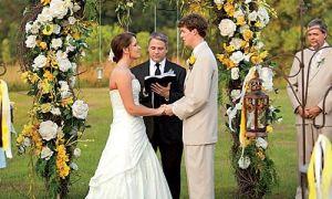 Hermosos arcos de boda