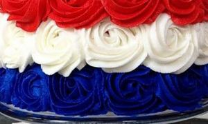 Fjerde juli Cake Ideas