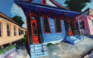 James Michalopoulos se vrací na 36 let malířství v New Orleans