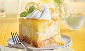 Lemon Cake Opskrifter, der kræver en anden skive