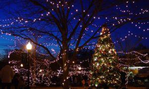Nejlepší malá města na Vánoce na jihu