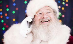 Olvídate de los sellos, puedes llegar a Papá Noel por teléfono