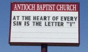 Señales ridículamente divertidas de la iglesia que debes ver