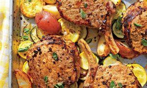 21 Quick-Fix Pork Chop Cenas