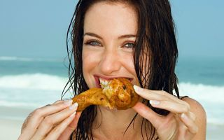サザンナは,これらの食料品なしではビーチに向かないだろう