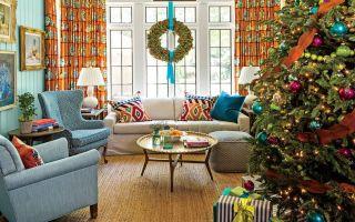 Naše oblíbené obývací pokoje jsou vyzdobeny na Vánoce