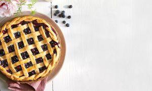 Corte de pastel de celosía: un clásico del sur