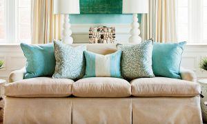 Sådan Arranger Sofa Pillows
