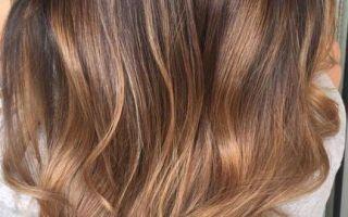 براون أومبريه لون الشعر أفكار